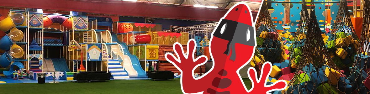 Soft play area and foam pit